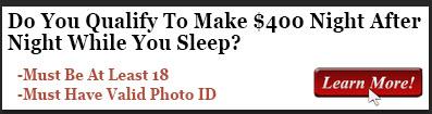 become rich while you sleep