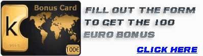 free 100 euro bonus card