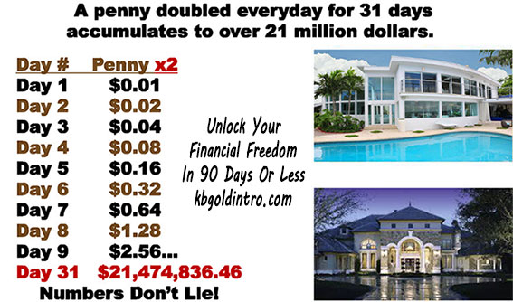 how to become rich with no money exponential