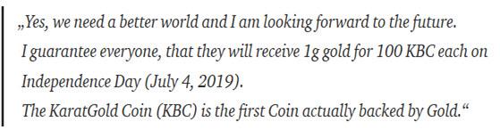 superior gold backed crypto